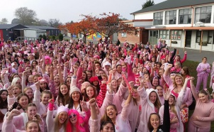 Avonside Girls Sea of Pink